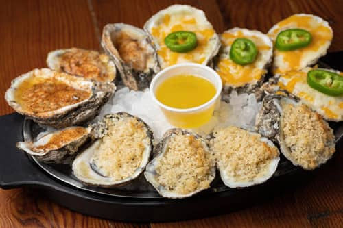 Capt. Benny's Baked Oysters Appetizer