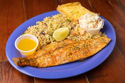 Capt. Benny's Texas Red Fish Dinner